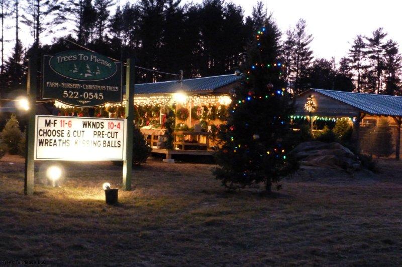 Norridgewock Gift Shop in the Evening