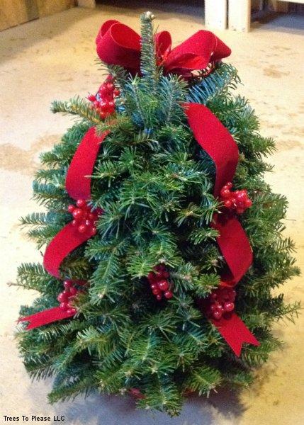 Christmas Tree Table Centerpiece