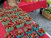 Strawberries from Norridgewock Farm